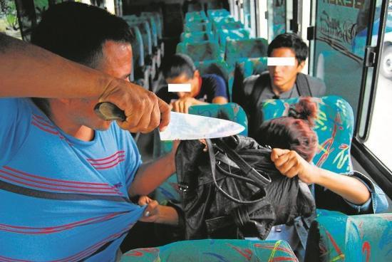 Pasajeros de bus vivieron minutos de terror
