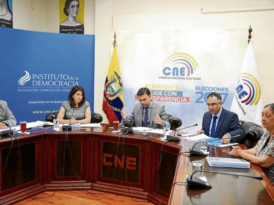 CNE recuerda reglas de las elecciones