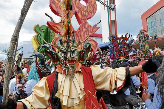 Diablada remarca cultura ancestral
