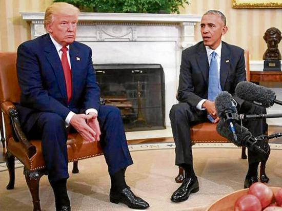 "Donald Trump busca derogar el ""Obamacare"""