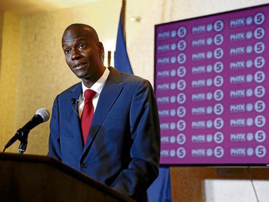 Dos partidos haitianos desconocen el triunfo de Jovenel Moise