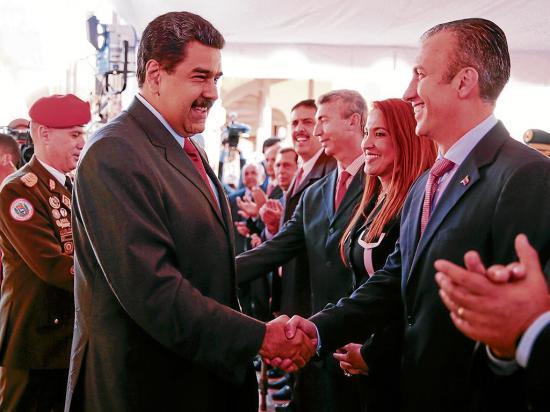 Maduro nombra un nuevo vicepresidente