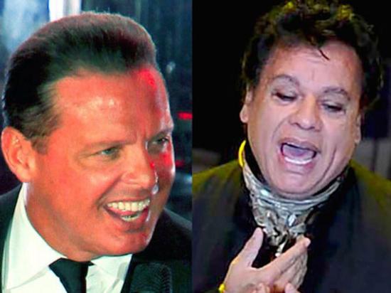 Sacan a la luz un dueto entre los cantantes Luis Miguel y Juan Gabriel