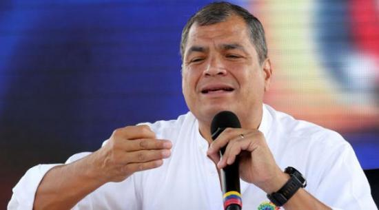 Correa pide se conozcan pronto involucrados en sobornos Odebrecht en Ecuador