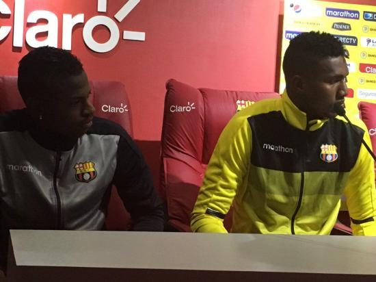 Barcelona SC anuncia a cinco nuevos refuerzos para este 2017