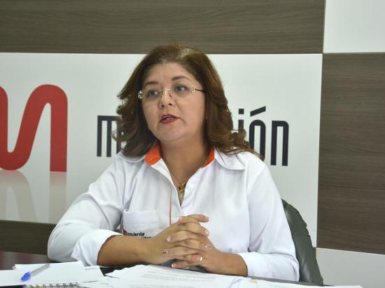 Glenda Saltos propone ley para los artesanos