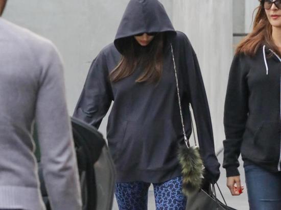 Una nueva foto llevaría  a especular que Irina Shayk sí está embarazada