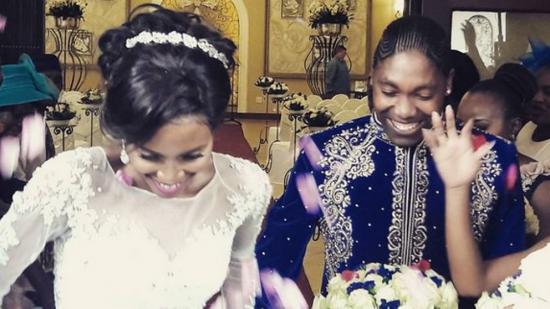 La polémica campeona olímpica Caster Semenya se casó con su novia