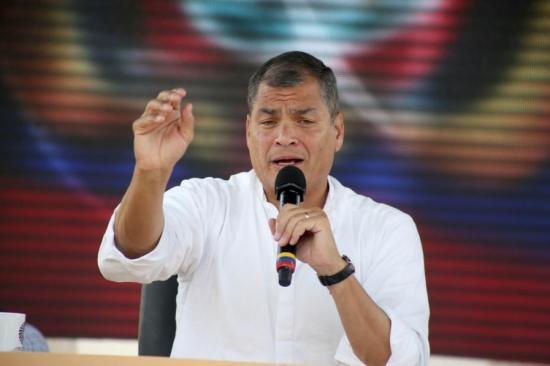 Presidente Correa acusa a los hermanos Isaías de querer politizar el caso Odebrecht