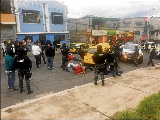 Capturan a 7 presuntos miembros de banda  dedicada a asaltos