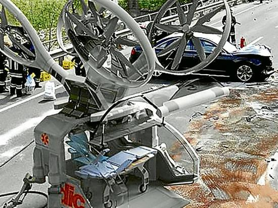 Crean el dron ambulancia