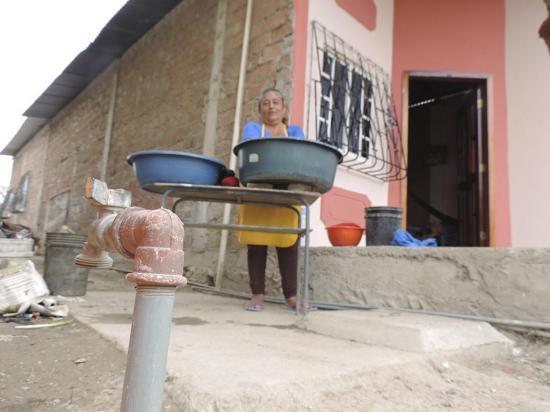 Hay escasez de agua en Puerto López