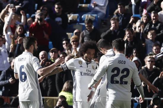 El brasileño Marcelo cumple 10 años en el Real Madrid y suma su partido 382