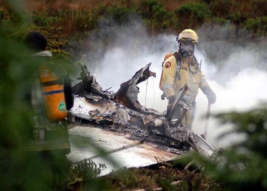Accidente de avioneta deja al menos cuatro muertos en el sur de Chile
