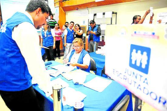 El CNE realiza hoy el simulacro electoral