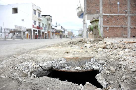 Tuberías: 2,5 millones de dólares en reparar  daños del terremoto