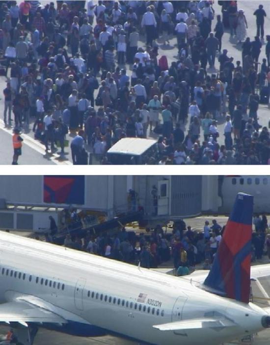 Sospechoso de tiroteo en aeropuerto comparece por primera vez ante un juez