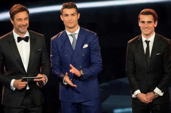 Cristiano Ronaldo, elegido 'The Best'