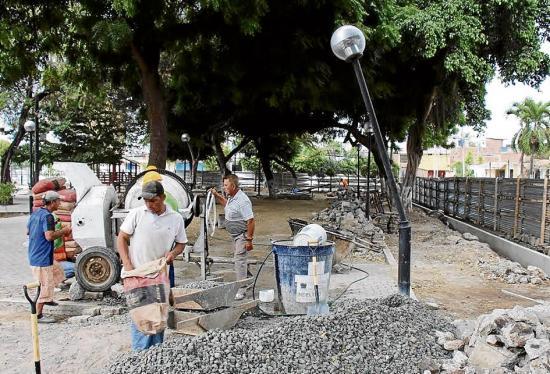 Habilitan parque en Los Algarrobos
