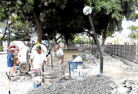 Parque Los Algarrobos casi listo para ser entregado
