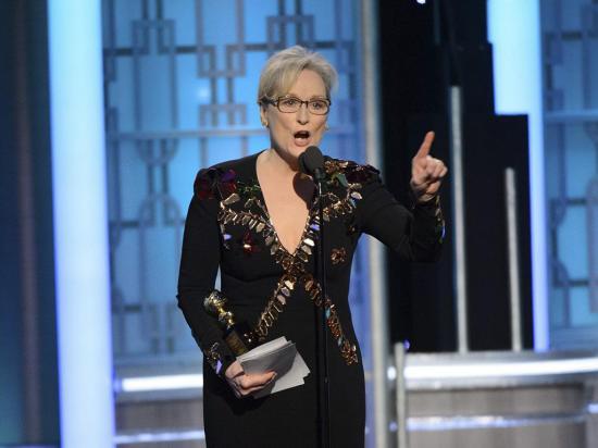 Donald Trump ataca a Meryl Streep y la llama actriz sobrevalorada