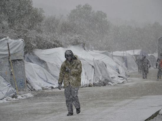 El frío paraliza a los europeos