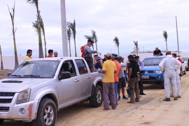 Continúan las investigaciones tras hallazgo de cadáver en Montecristi