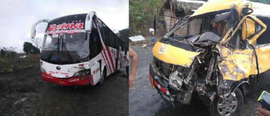 Accidente de tránsito en la vía Jipijapa-Guayaquil deja tres personas heridas