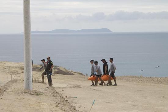 Mañana se tendría el primer informe sobre cadáver hallado en Montecristi