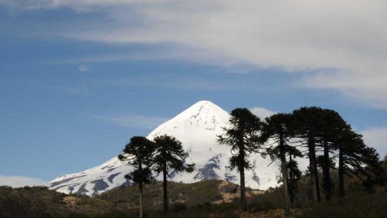 Un muerto y tres heridos graves por desprendimiento de rocas en volcán argentino Lanín