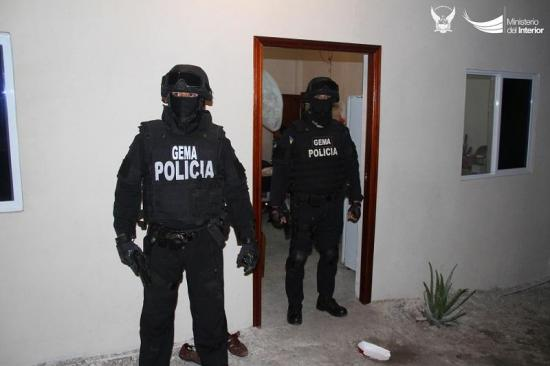 70 detenidos en 6 provincias