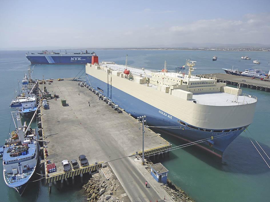 Agunsa operará el  puerto en marzo