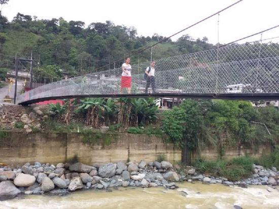El puente peatonal ya está habilitado