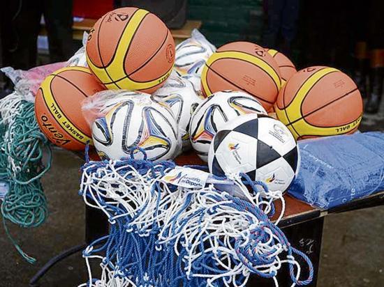 Organismos deportivos reciben implementación