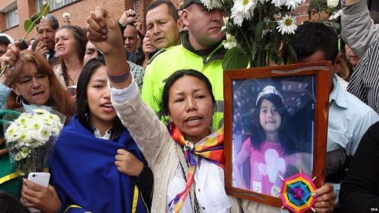 El violador y asesino confeso de niña colombiana pide perdón y acepta cargos
