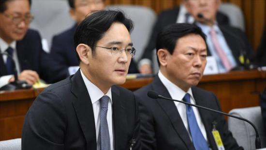 El heredero de Samsung declara como sospechoso en caso de corrupción
