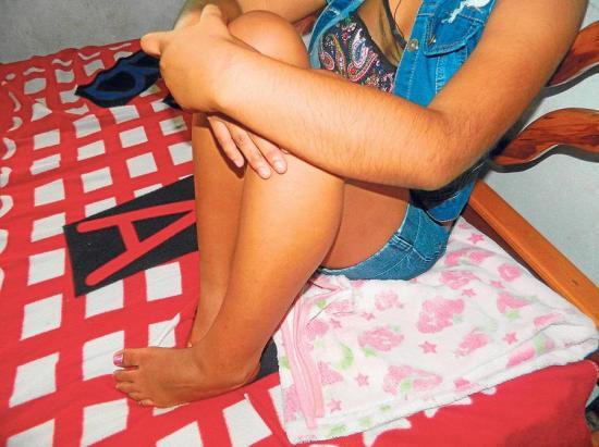 Un 'espíritu' persigue a una adolescente de 14 años