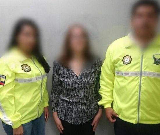 CASO PETROECUADOR: Detienen a mujer requerida con difusión roja de la Interpol