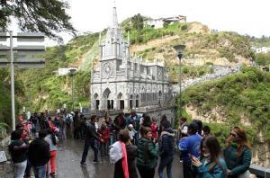 El Santuario de Las Lajas, una maravilla de Colombia al borde de un abismo