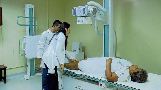 Resultados de tomografías son grabados en CD's
