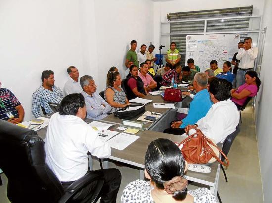 Municipio de Tosagua ultima detalles en el  plan de contingencia