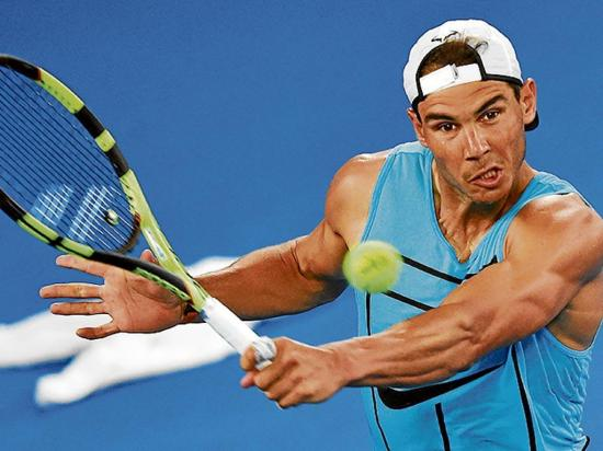 Rafael Nadal, preparado para abierto de Australia