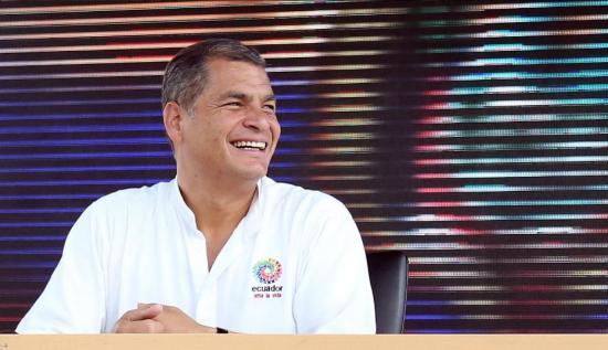 Rafael Correa celebra mañana una década en el poder