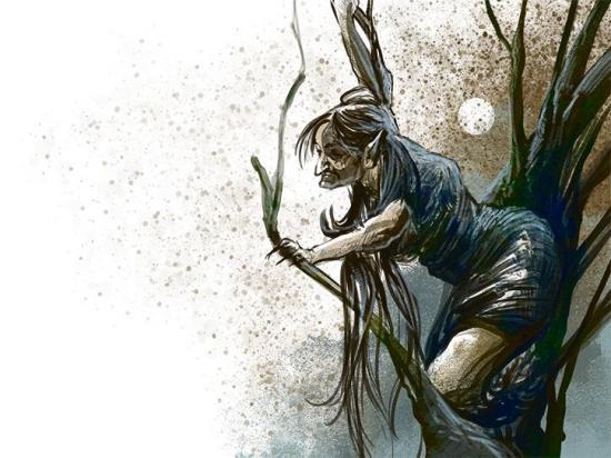 Bruja del monte atemorizaba a orillas del río