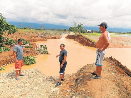 120 viviendas quedaron bajo el agua
