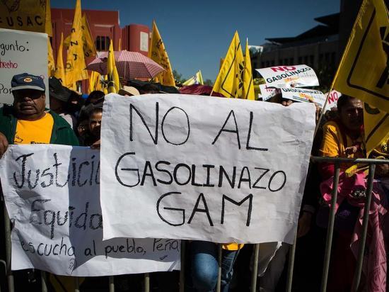 Continúan las  manifestaciones