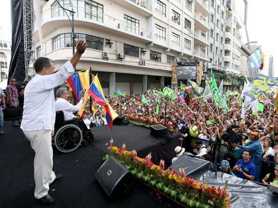 """Correa: """"Dejaremos al próximo gobierno una economía estabilizada"""""""