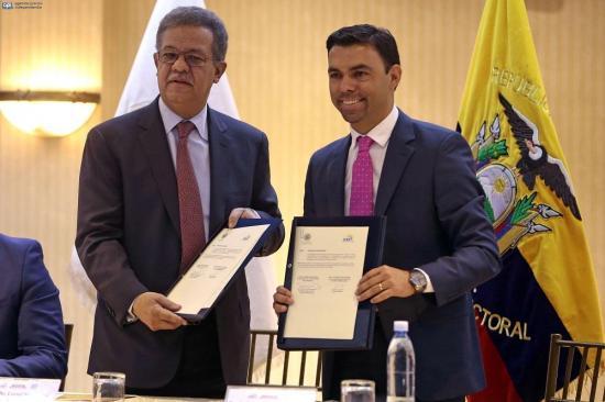 Consejo Electoral de Ecuador firma un convenio de observación con la OEA