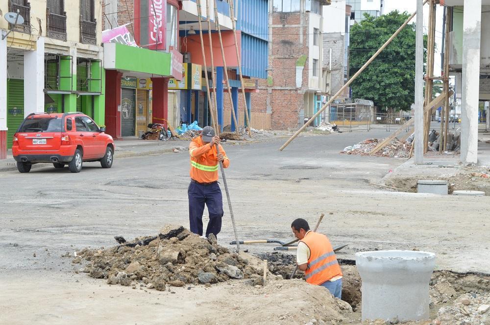 La 'zona cero' de Portoviejo será reabierta en 39 días