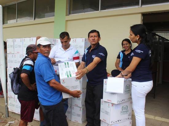 GPM  entrega 220 kits  agrícolas
